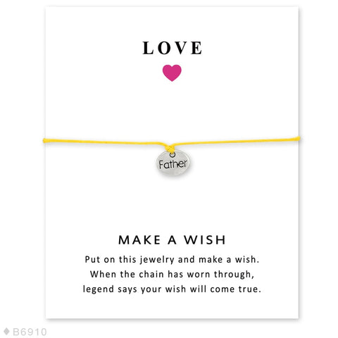 FLASH SALE Mommy & Family Bracelets Card - Charm Bracelets | Ziloda