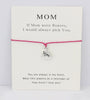Image of FLASH SALE Mommy & Family Bracelets Card - Charm Bracelets | Ziloda