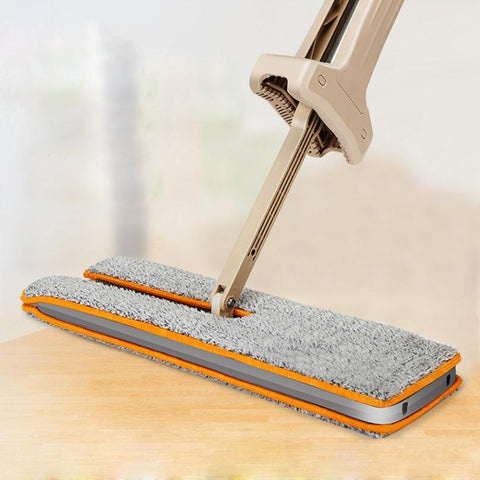 Double-Sided Washable Flat Cleaning Floor Mop Tool - Scouring pads | Ziloda