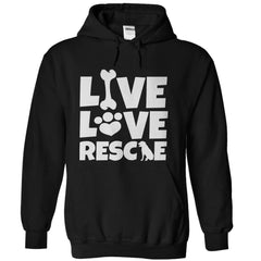 Log Rescue Dog Hoodie - green | Ziloda