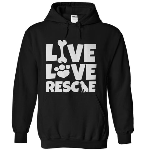 Log Rescue Dog Hoodie