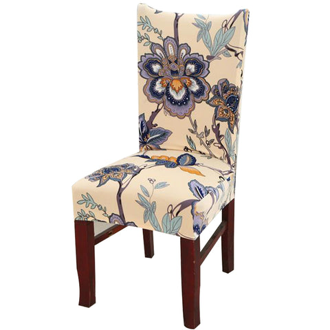 Elastic Flower Printing Elastic  Four Seasons Chair Anti-dirty Covers - Chair Cover | Ziloda