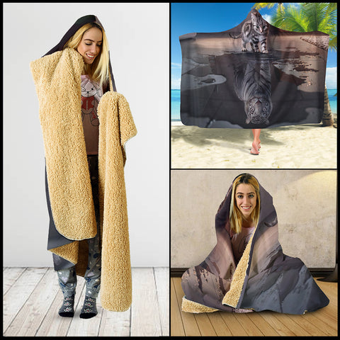 DUY-0010 Hooded Blanket - Hooded Blanket | Ziloda