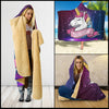 Image of DUY-0007 Hooded Blanket - Hooded Blanket | Ziloda