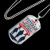"Image of Ziloda™️ Luxury ""I am a Veteran"" Dog tag [Father's Day Promo]"