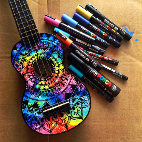 Ziloda™️ Custom Oil Painted Ukulele -  | Ziloda