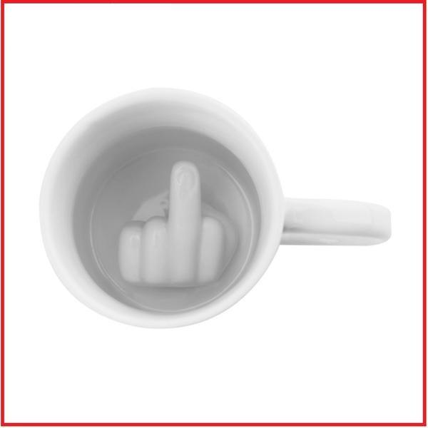 Middle Finger Style Cup