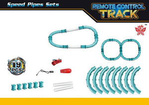 Building Pipes Speed Track with RC Car -  | Ziloda