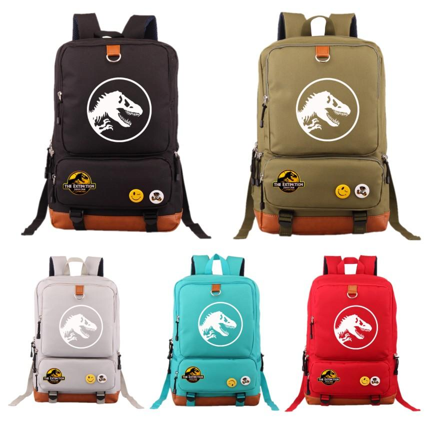 2018 Hot Jurassic Park Student Backpack Shoulder Bag -  | Ziloda