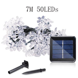7M/12M/22M Solar Powered String Lights