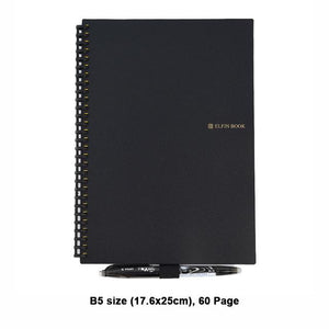 Elfinbook 2.0 - Smart Reusable Notebook + 1x Pilot Pen -  | Ziloda