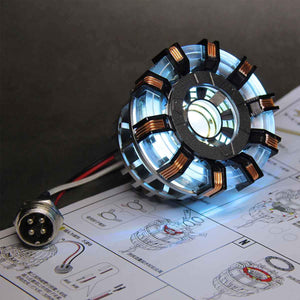 High Quality Arc Reactor Diy Led Light SuperTM MK2 High-End No Box (Core Only)