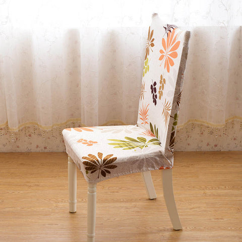 Elastic Floral Printing Anti-dirty Chair Cover Case -  | Ziloda