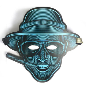 Sound Reactive LED Mask