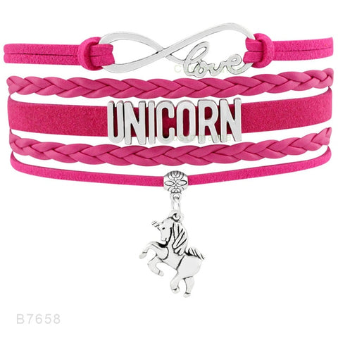 FLASH SALE Unicorn Mom Handmade Adjustable Bracelets - Charm Bracelets | Ziloda