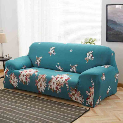 Elastic Floral Pattern Universal Sofa Covers - sofa cover | Ziloda