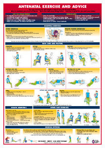 Antenatal Exercise and Advice Chart - Chartex Ltd