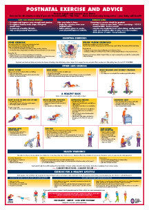 Postnatal Exercise and Advice Chart - Chartex Ltd