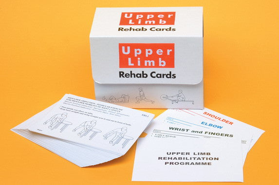 Upper Limbs Exercise and Rehab Cards