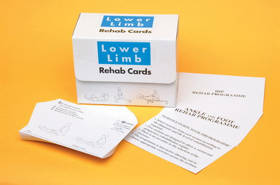 Lower Limbs Exercise and Rehab Cards