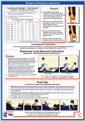 Strength and Endurance Assessment Chart