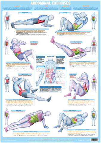 Abdominal Exercise Chart