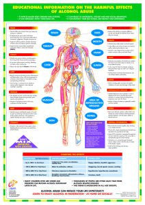 Effects of Alcohol Abuse Chart - Chartex Ltd
