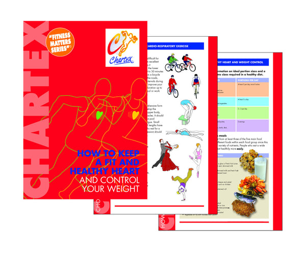 Keep a Fit & Healthy Heart & Weight Control Manual