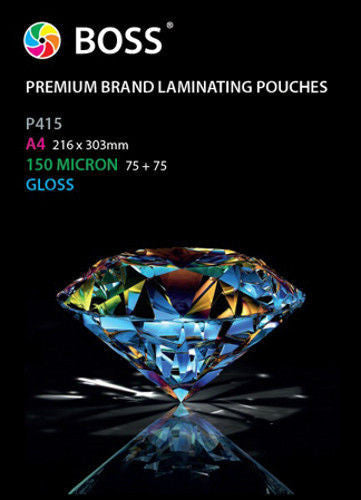 Laminating Pouches (150 & 250 Micron) - A4 Size (100 Pack)
