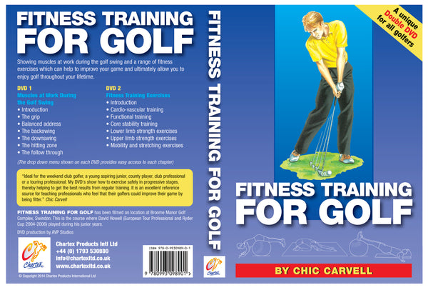 Golf Fitness Training Double DVD
