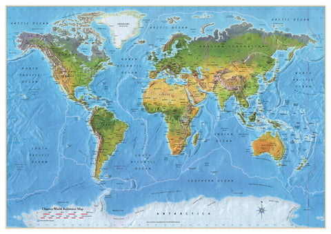World Reference Map