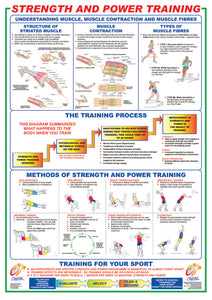 Strength and Power Training Chart - Chartex Ltd