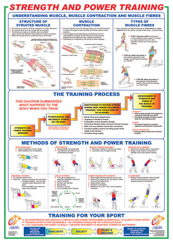Strength and Power Training Chart