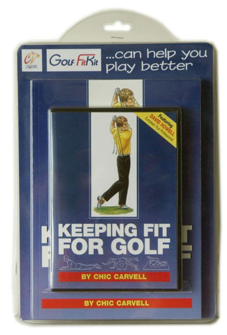 Keeping Fit for Golf - Book & Tubes