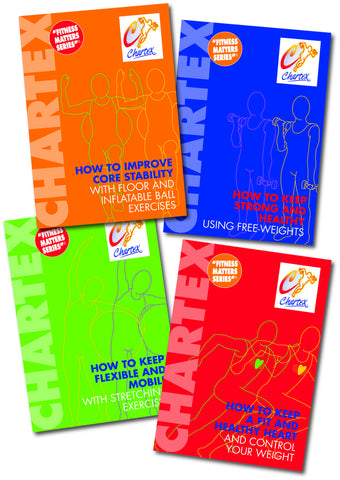 Health And Fitness Manuals - Set of 4