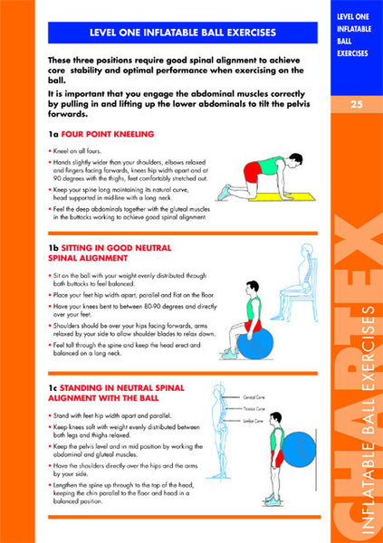 Core Stability using Inflatable Ball Manual
