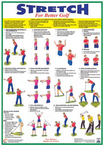 Golf Warm-Up Pocket Booklet