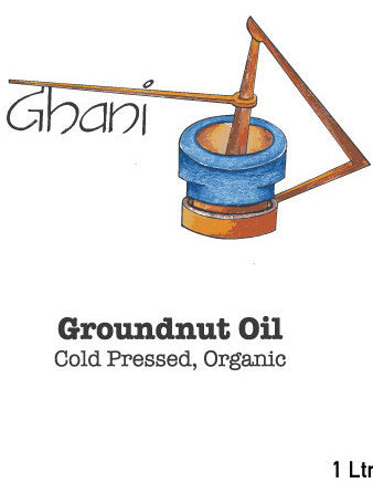 Groundnut Oil Ghani Cold Pressed