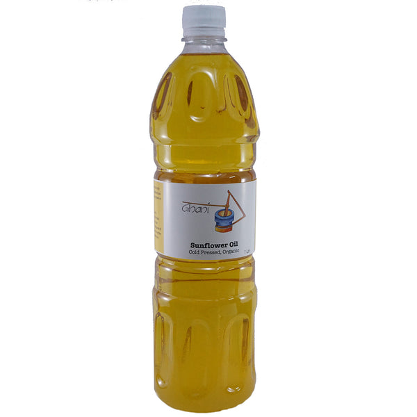 Sunflower oil Bottle