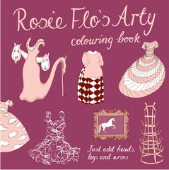 Rosie Flo's Arty colouring book