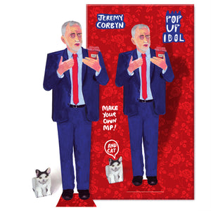 Pop Up Idol Jeremy Corbyn