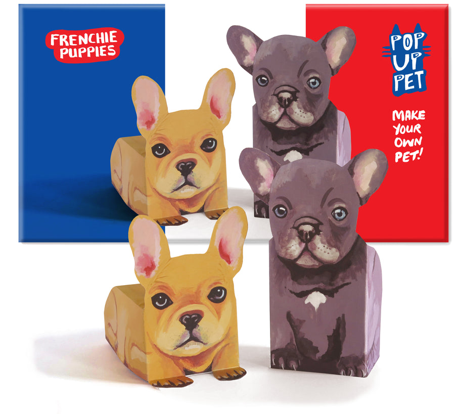 Make youur own Pop Up Pet Frenchie Puppies