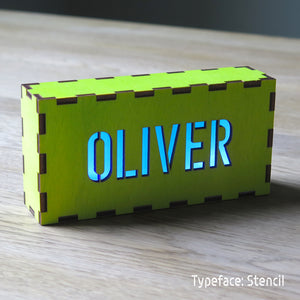 Personalised Glow Boxes
