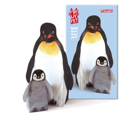 Penguin gift mother and baby