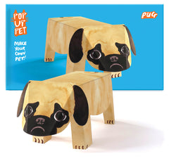 Pug Pop up pet