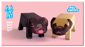 Pop Up Pet Pug Puppies cover