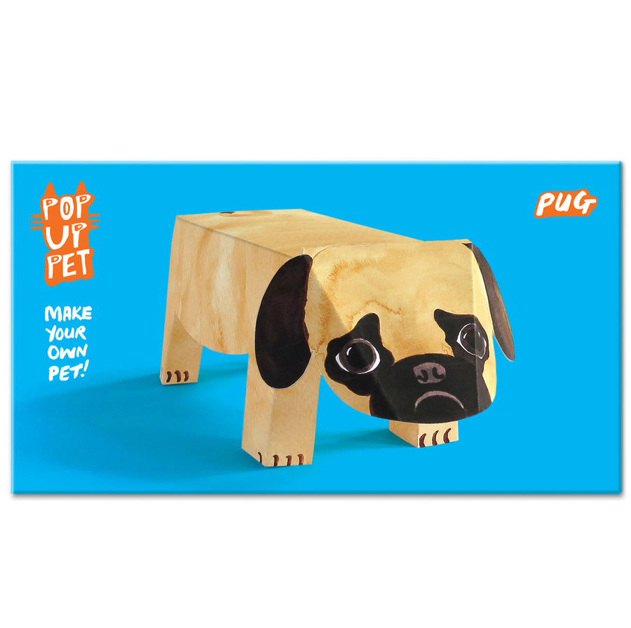 Pop Up Pet Pug with cover