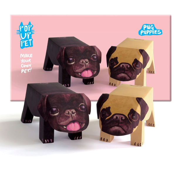 Pop Up Pet Pug Puppies