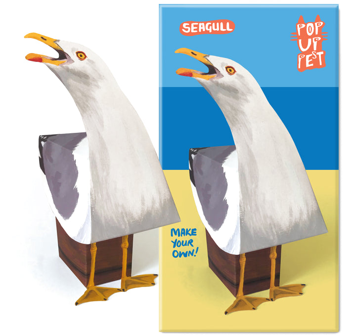 Make your own Pop Up Pet Seagull cover
