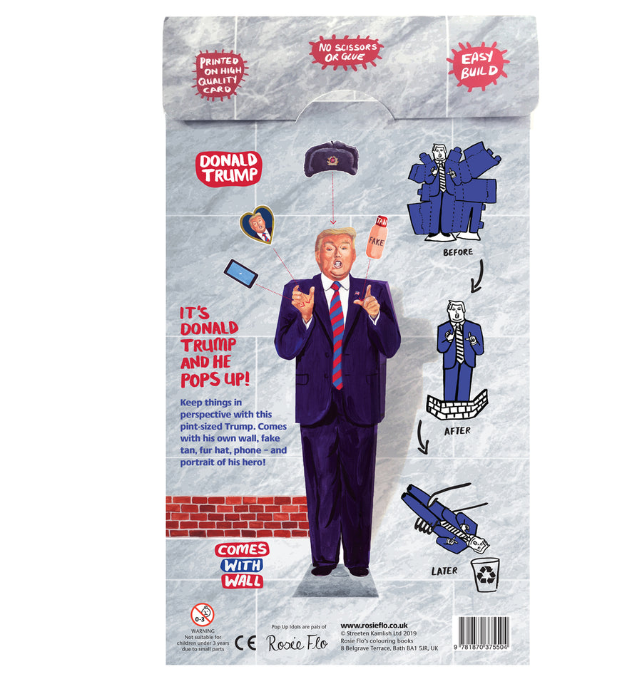 Pop Up Idol Donald Trump
